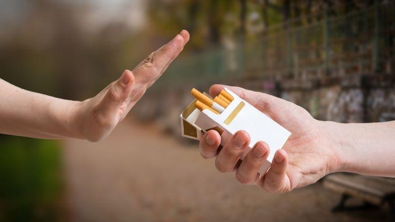 parar de fumar definitivamente